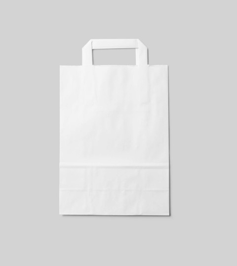 White Lunch Bag